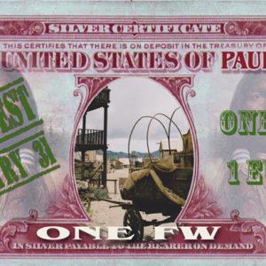 fausse monnaie publicitaire